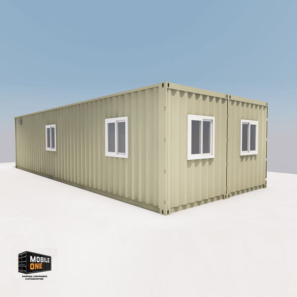 16x40 Office Shipping Container
